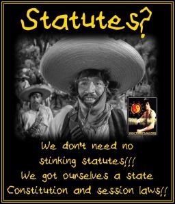 MEME - We Don't Need No Statutes