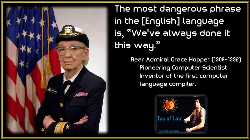 MEME - Grace Hopper - We've Always Done It This Way 1920x1080