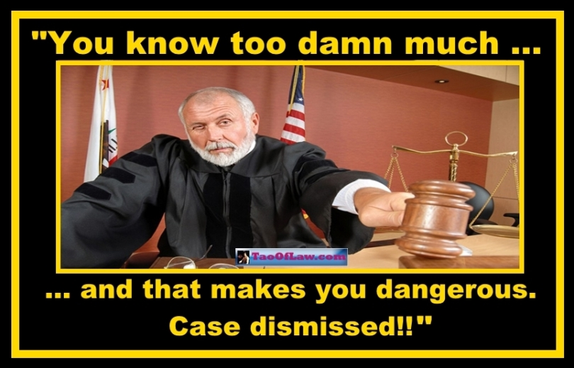 MEME - Judge - You Know Too Much